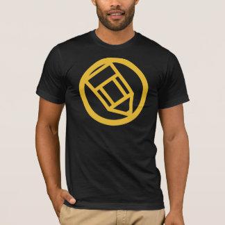 不完全なロゴ Tシャツ