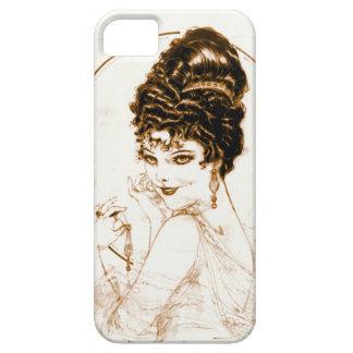 不完全な一見1919年 iPhone SE/5/5s ケース