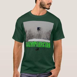 、不完全な生産跳んで下さい Tシャツ