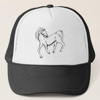 不完全な馬 キャップ