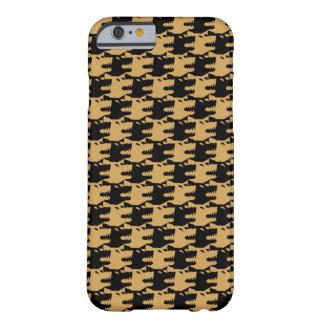 不屈な装飾用パターンオオカミ BARELY THERE iPhone 6 ケース