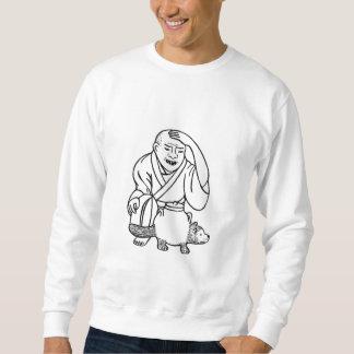不思議なやかん スウェットシャツ