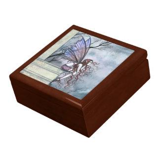 不思議なハートの妖精の木の装身具箱 ギフトボックス