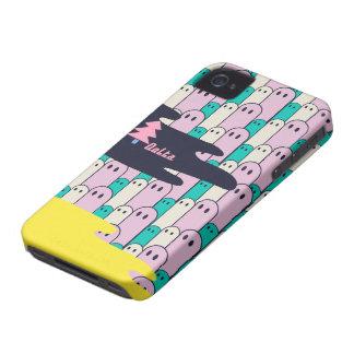 不思議な生き物のDelta01typeC小型黄色 Case-Mate iPhone 4 ケース