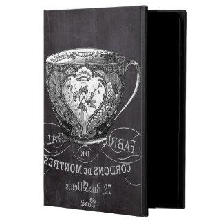 不思議の国のお茶会のティーカップの黒板アリス iPad AIRケース