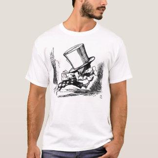 不思議の国のアリスからの帽子屋のランニング Tシャツ