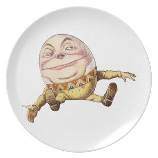 不思議の国のアリスからのHumpty Dumpty ディナープレート