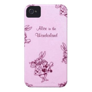 """""""不思議の国のアリス""""の物語の本のiphoneの場合 Case-Mate iPhone 4 ケース"""