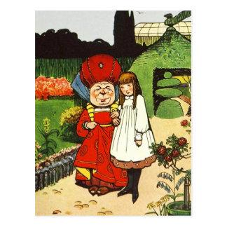 不思議の国のアリス: アリスおよび公爵夫人 ポストカード