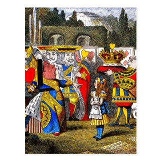 不思議の国のアリス-ハートの女王- Tenniel はがき