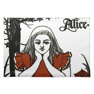 不思議の国のアリス; 演劇。 アリス ランチョンマット
