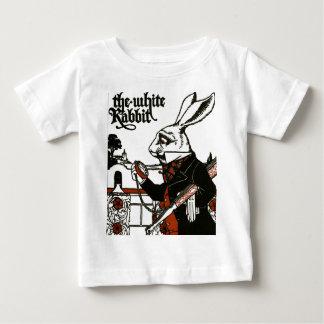 不思議の国のアリス; 演劇。 白いウサギ ベビーTシャツ