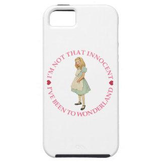 不思議の国のアリス-私はその潔白な人ではないです iPhone SE/5/5s ケース