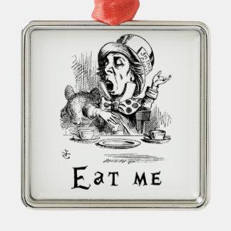 不思議の国のアリス-私を食べて下さい メタルオーナメント