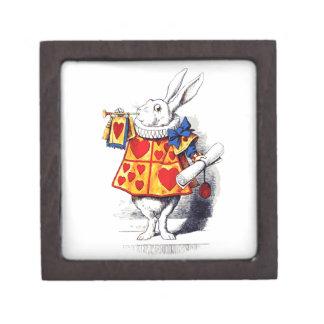 不思議の国のアリスTenniel著白いウサギ ギフトボックス