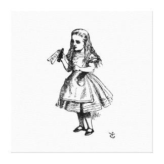 不思議の国のキャンバスプリントのアリス キャンバスプリント