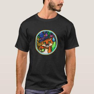 不思議の国のチェシャー猫のポーカープレイヤーのアリス Tシャツ
