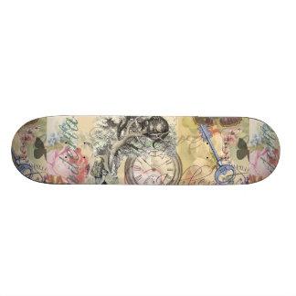不思議の国のチェシャー猫アリス スケートボード