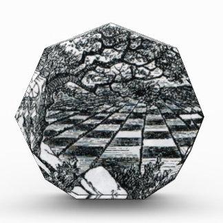 不思議の国のチェス盤 表彰盾