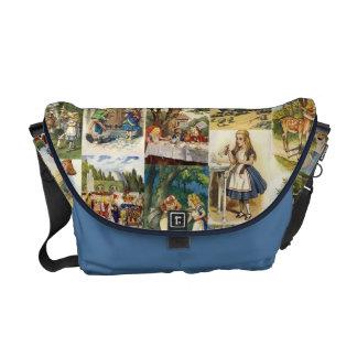 不思議の国のバッグのアリス メッセンジャーバッグ