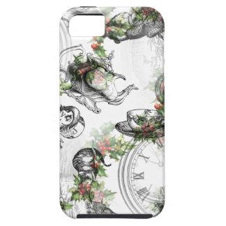 不思議の国のヒイラギのクリスマスのアリス iPhone SE/5/5s ケース