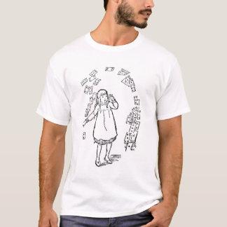 不思議の国のワイシャツのアリス Tシャツ