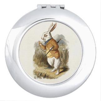 不思議の国のヴィンテージの芸術のアリスからの白いウサギ