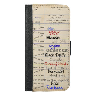 不思議の国の図書館から iPhone 6/6S PLUS ウォレットケース