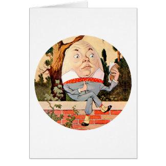 不思議の国の壁のHumpty Dumpty土曜日 カード