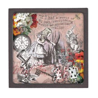 不思議の国の帽子屋およびウサギのアリス ギフトボックス