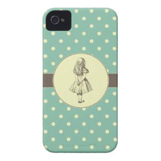 不思議の国の水玉模様のアリス Case-Mate iPhone 4 ケース