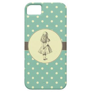 不思議の国の水玉模様のアリス iPhone SE/5/5s ケース