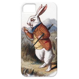 不思議の国の白いウサギのiPhone 5の箱のアリス iPhone SE/5/5s ケース