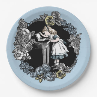 不思議の国の紙皿のアリス ペーパープレート