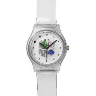不思議の国の腕時計-幼虫のアリス 腕時計