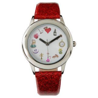 不思議の国の腕時計 腕時計
