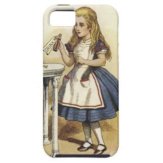 不思議の国の頭が切れるな電話堅い箱のアリス iPhone SE/5/5s ケース
