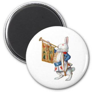 不思議の国のALICESの白いウサギ マグネット