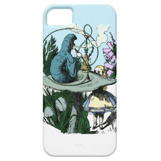 不思議の国のCatepillarの水ぎせるのiphone 5のアリス iPhone SE/5/5s ケース