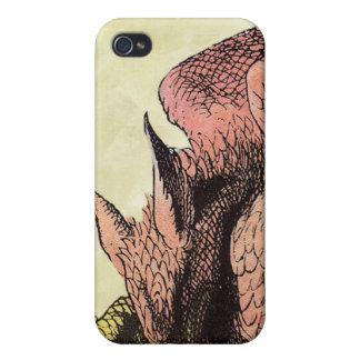 不思議の国のiPhoneカバーのドラゴンアリス iPhone 4/4S Cover