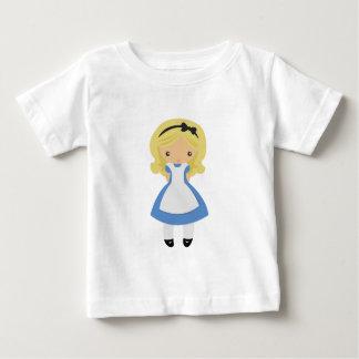 不思議の国のKRWかわいいアリス ベビーTシャツ