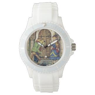 不思議の国のToadおよびアリス氏 腕時計