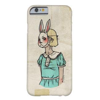 不思議の国、インスパイア白いウサギのアリス BARELY THERE iPhone 6 ケース