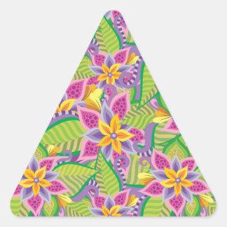 不思議の国 三角形シール