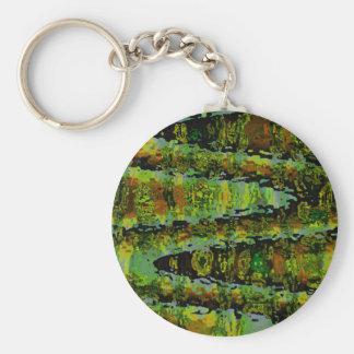 不思議の国-深緑色の礁湖 キーホルダー