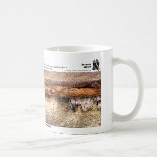不整合I -崖、Arbuckle山 コーヒーマグカップ