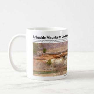 不整合II -崖、Arbuckle山 コーヒーマグカップ