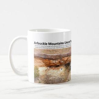 不整合III -崖、Arbuckle山 コーヒーマグカップ
