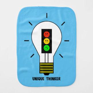 不機嫌な信号の電球のユニークな思想家 バープクロス