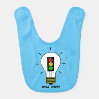 不機嫌な信号の電球のユニークな思想家 ベビービブ